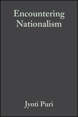 Encountering Nationalism by Jyoti Puri image