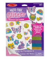 Melissa & Doug: Mess Free Glitter - Friendship Foam Stickers