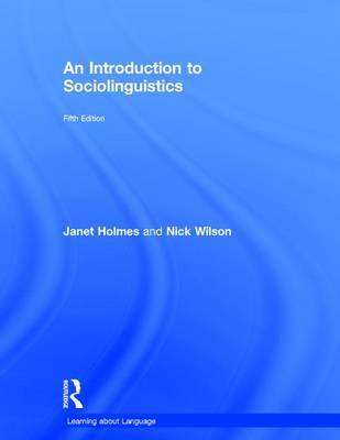 An Introduction to Sociolinguistics by Janet Holmes image