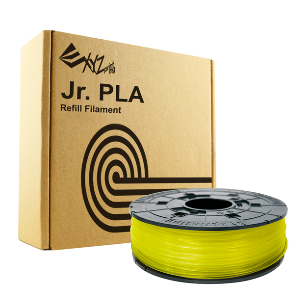 Da Vinci Filament For Mini Maker/Jr - PLA Refill Pack (Yellow)