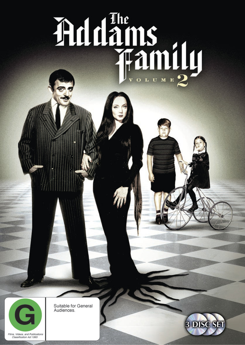 The Addams Family (1964) - Vol. 2 (3 Disc Set) on DVD image