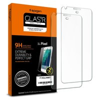Spigen: Goolge Pixel - Premium Tempered Glass Screen Protector