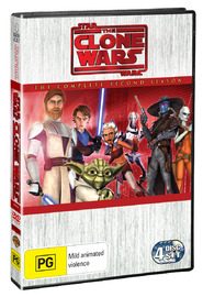 Star Wars: The Clone Wars: The Complete Season 2 (4 Disc) on DVD