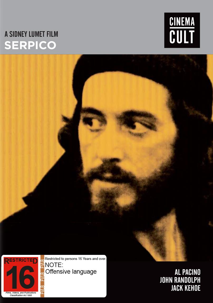 Serpico [Cinema Cult] on DVD image