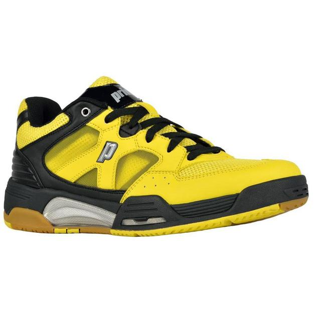 Prince Indoor NFS M Squash Shoes (Black/Yellow) (Size 12)