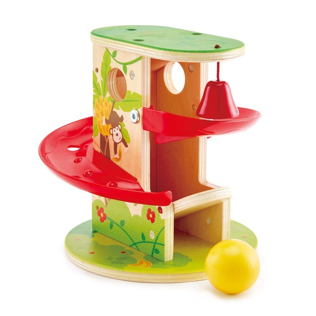 Hape: Jungle Press & Slide - Playset