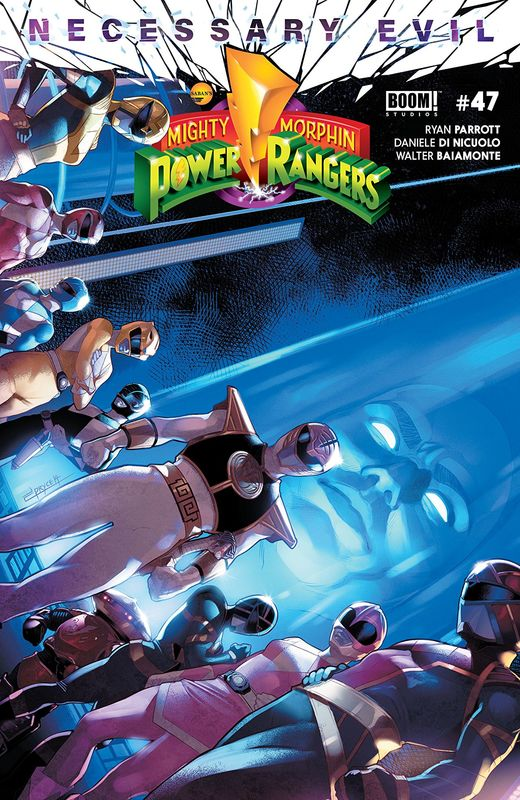 Mighty Morphin Power Rangers - #47 (Cover A) by Ryan Parrott