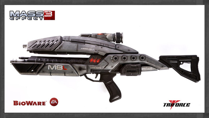 Mass Effect 3 - M-8 Avenger Assault Rifle 1:1 Scale Replica (Limited to 500 Worldwide!) image