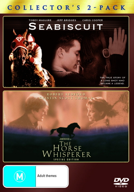 Seabiscuit / The Horse Whisperer - Collector's 2-Pack (2 Disc Set) on DVD