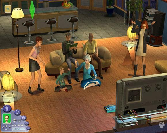 The Sims 2 Xmas Edition 2007 for PC Games