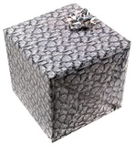 Minecraft Cobblestone Gift Wrap
