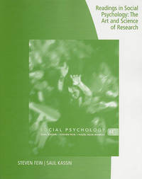 Readings in Social Psychology by Saul Kassin image