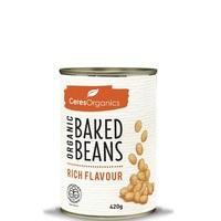 Ceres Organics Baked Beans (Rich Flavour, 420g)