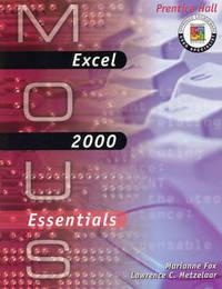 Excel 2000 by Lawrence Metzelaar image