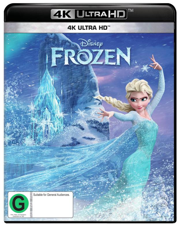 Frozen on UHD Blu-ray