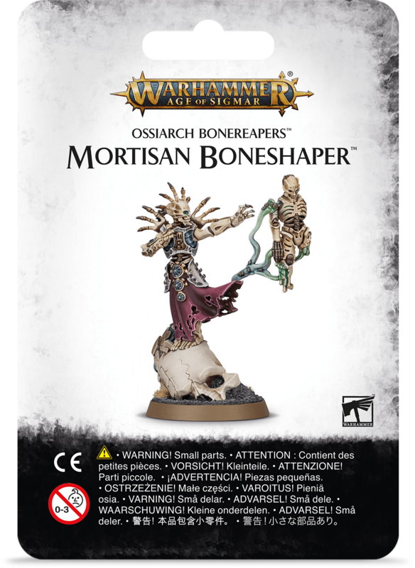 Warhammer Age of Sigmar: Ossiarch Bonereapers Mortisan Boneshaper