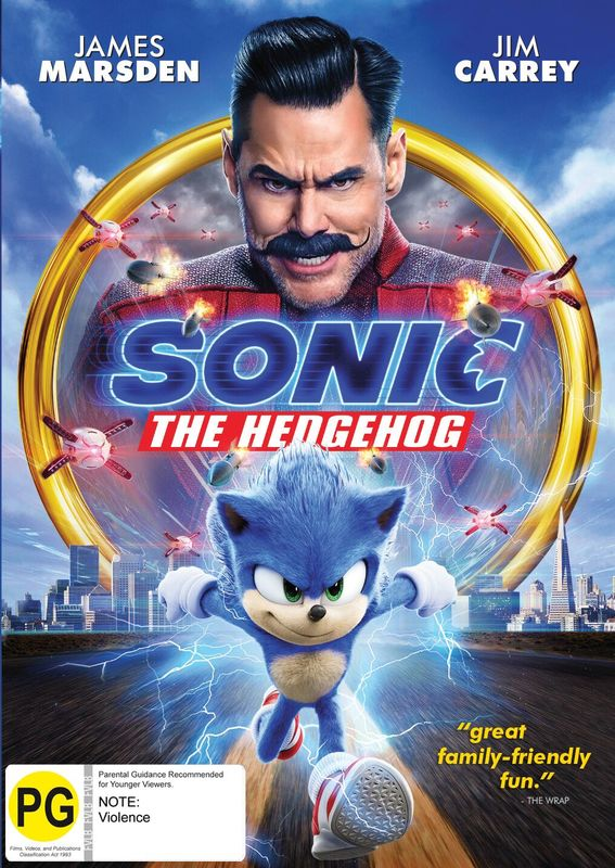 Sonic The Hedgehog on DVD