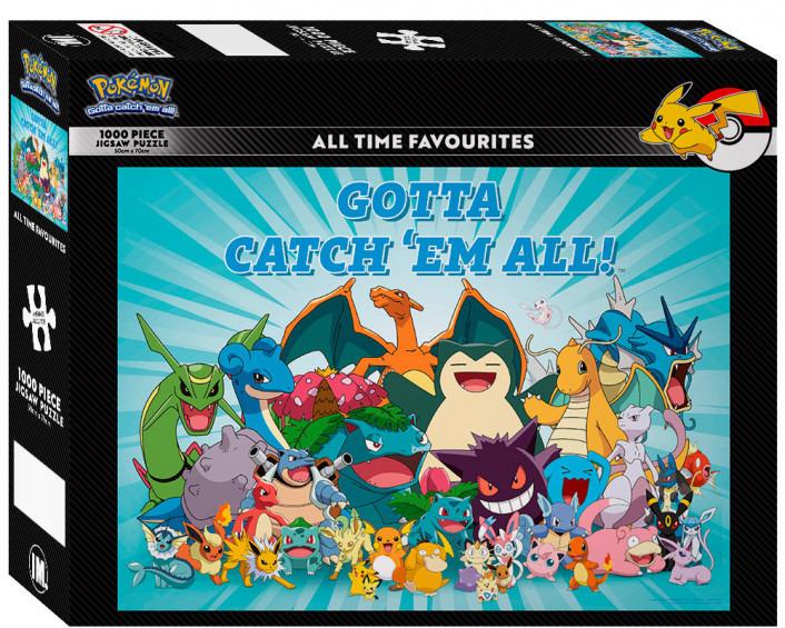 Pokemon: All Time Favourites - Impact Puzzle image