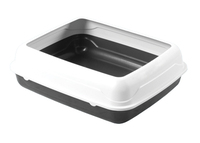 Kitty Litter Tray with Rim (Extra Large)