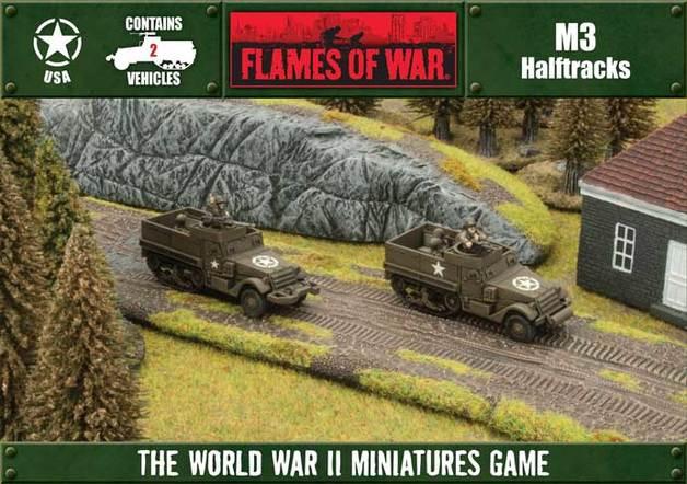 Flames of War: M3 Halftrack (Plastic 2-Set)