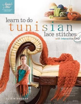 Learn to Do Tunisian Lace Stitches by Kim Guzman image