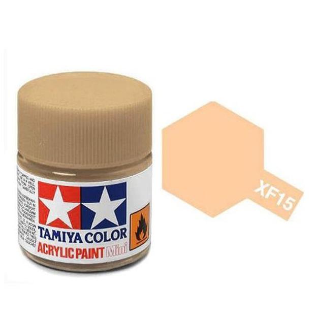 Tamiya Acrylic: Flat Flesh (XF15)