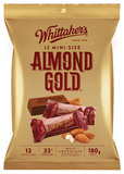 Whittaker's Almond Gold Mini Slabs