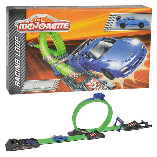 Majorette: Racing Loop Set - (with 1 Car)