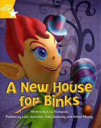 Fantastic Forest Yellow Level Fiction: A New House for Binks by Lisa Thompson image