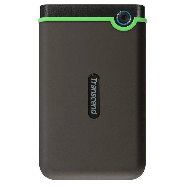 Transcend: StoreJet 25M3 2.5-inch 1TB USB3.1 Portable External Hard Drive - Iron Gray