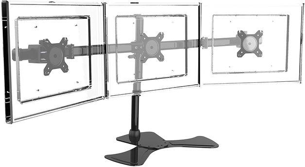 Gorilla Arms Triple Freestanding Monitor Mount