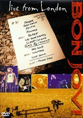 Bon Jovi - Live From London on DVD