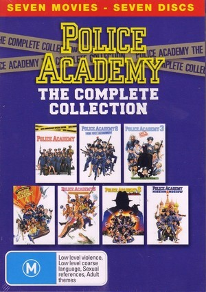 Police Academy: The Complete Collection (7 Disc Box Set) on DVD image