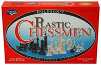 Plastic Chessmen Set