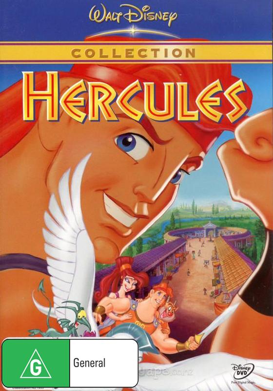 Hercules (1997) on DVD