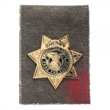 Walking Dead Badge Folder Wallet