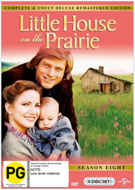 Little House On The Prairie - Season 8 (Digitally Remastered Edition) on DVD