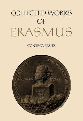 Controversies: [Vol. 76] by Desiderius Erasmus image