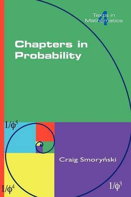 Chapters in Probability by Craig Smorynski