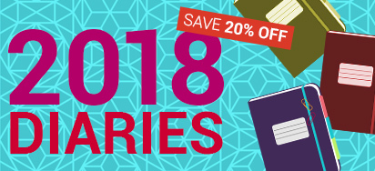 20% Off select Diaries!