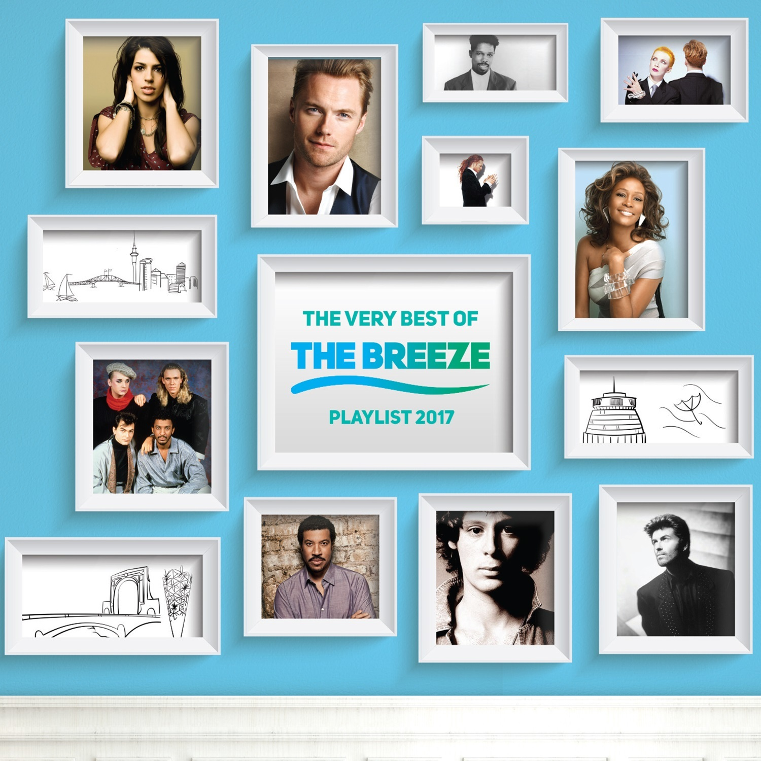 The Very Best Of The Breeze Playlist 2017 (2CD) by Various image
