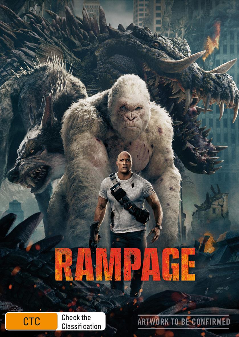 Rampage on DVD image