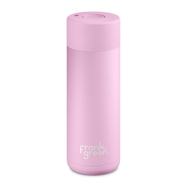 Frank Green: Stainless Steel Reusable Bottle - Pink Lavender (20oz/591ml)