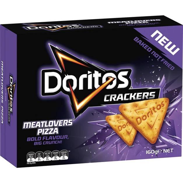 Doritos: Crackers - Meatlovers Pizza (160g)