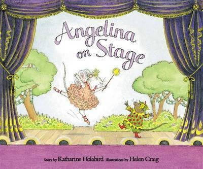 Angelina on Stage by Katharine Holabird image