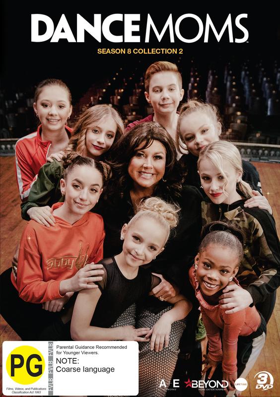 Dance Moms: Season 8 Collection 2 on DVD