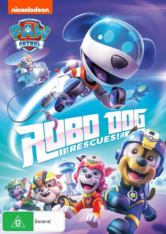 Paw Patrol: Robo Dog Rescues! on DVD