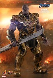 "Avengers: Endgame - Thanos (Battle Damaged) - 16"" Articulated Figure"
