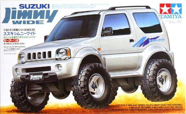 Tamiya 1/32 Mini 4WD Suzuki Jimny Wide (Jr)