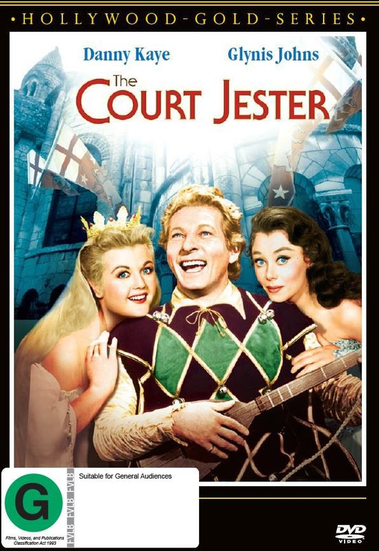 The Court Jester on DVD